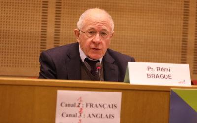 Intervention du Pr. Rémi Brague : « Libérer les intelligences »