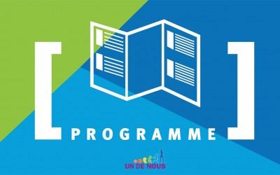 Le programme détaillé du 12 mars