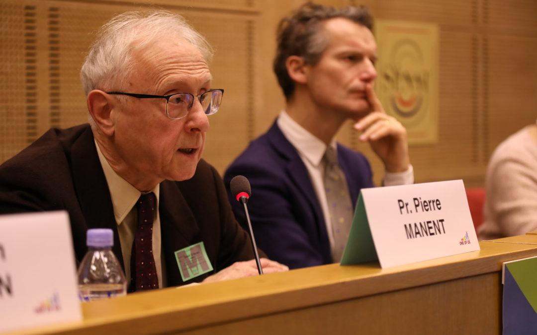 Intervention du Pr. Pierre Manent : « Mesure de l'Europe, mesure des nations européennes »